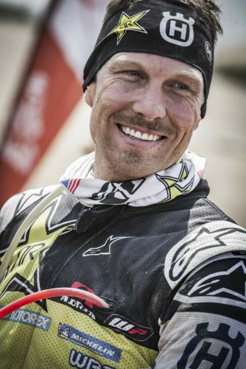2019 Dakar Rally Husqvarna Motorcycles Andrew Short Marcin Kin