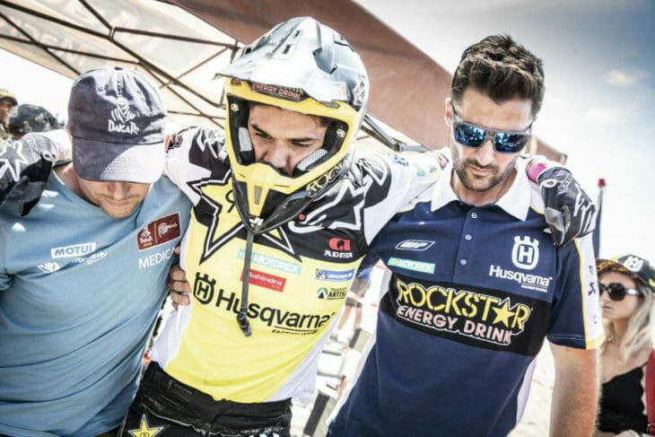 2019 Dakar Rally Pablo Quintanilla Rockstar Energy Husqvarna Marcin Kin