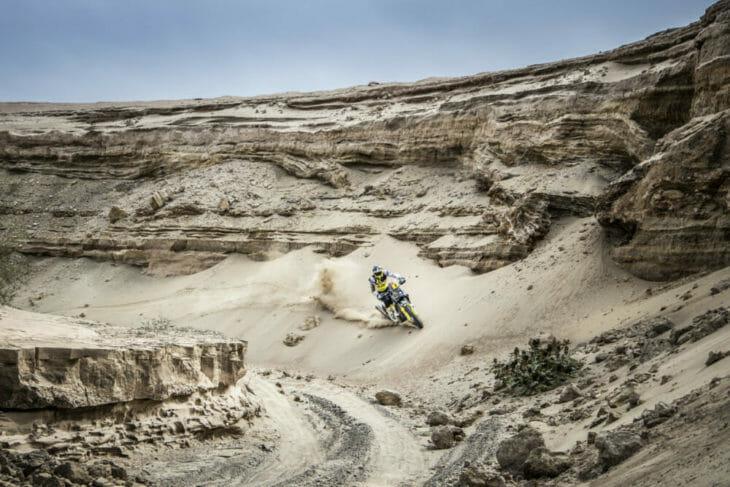 Rockstar Energy Husqvarna Pablo Quintanilla 2019 Dakar Rally