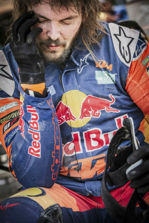 Toby Price 2019 Dakar Rally Red Bull KTM Marcin Kin photo