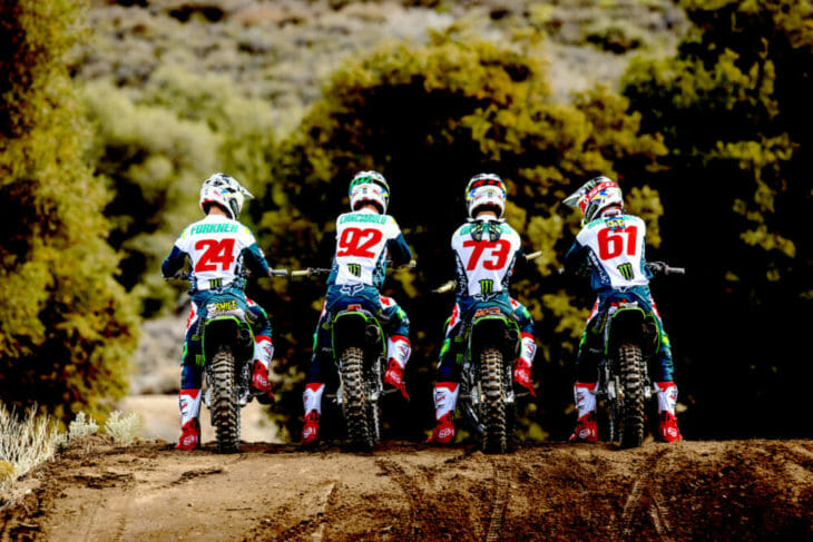 2019 Kawasaki Pro Circuit Team