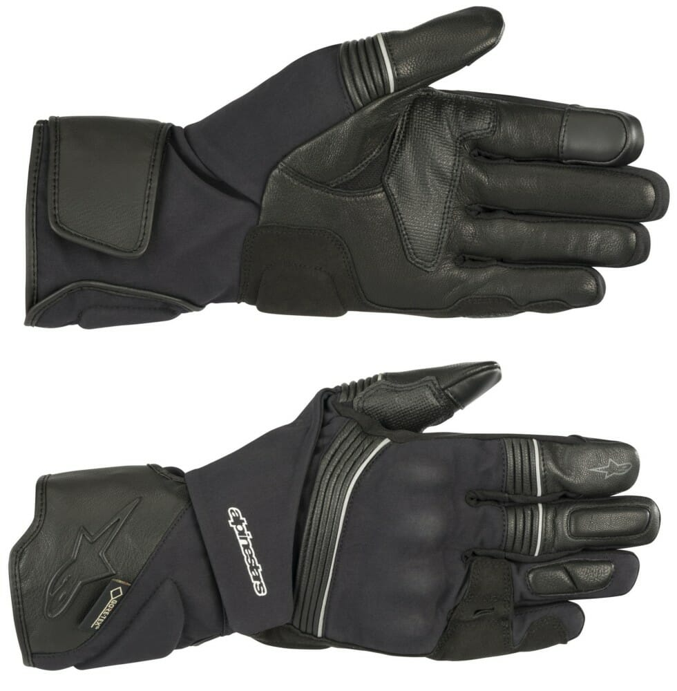 The Jet Road V2 Gore-Tex adventure-touring gloves have Alpinestars' Gore Grip Technology.