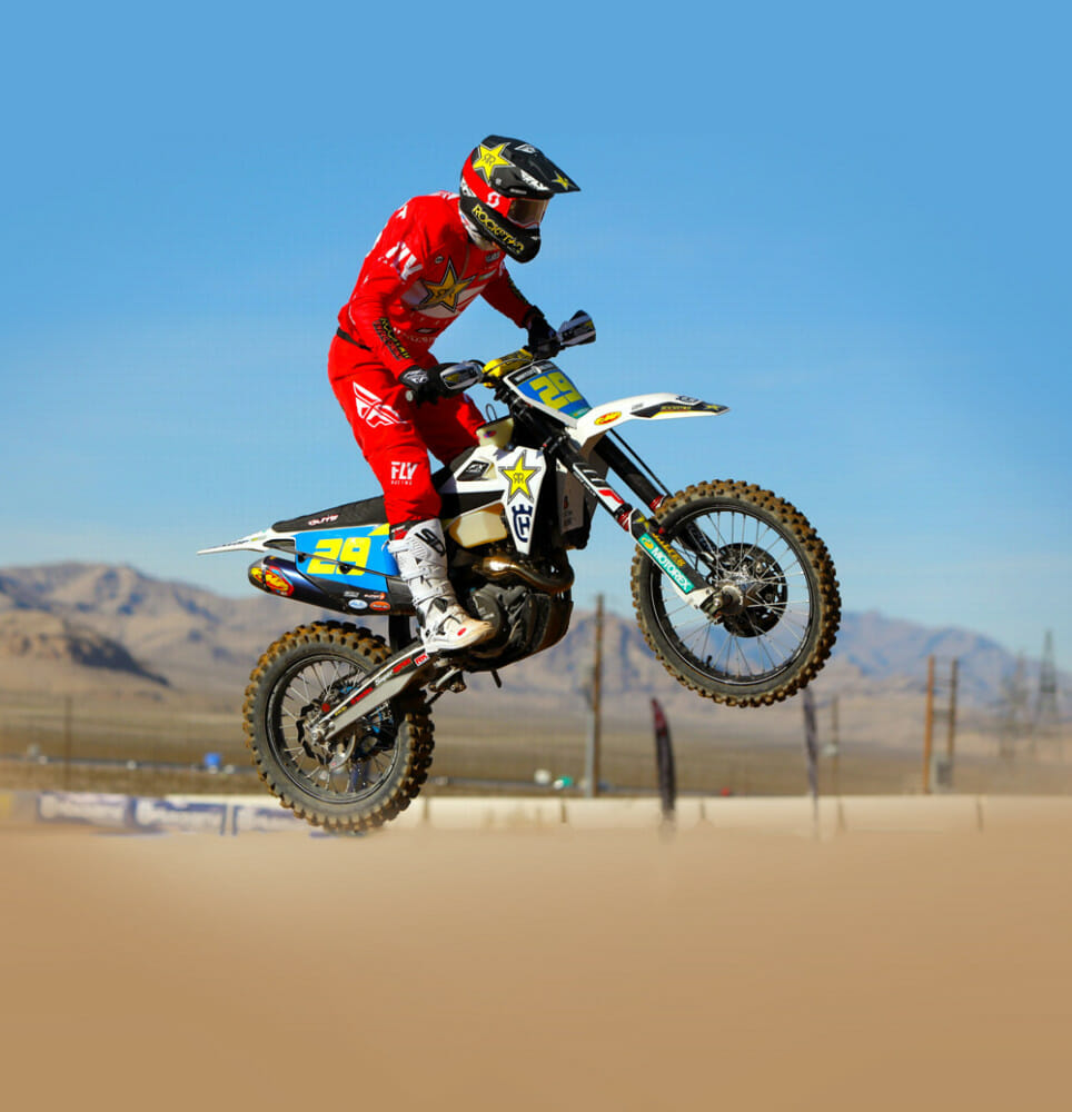 Andrew Short, who is racing the WORCS Championship this year, is a member of the WPS/Fly Racing family.