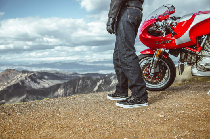 Cortech has two new riding jeans: The Primary and The Standard.