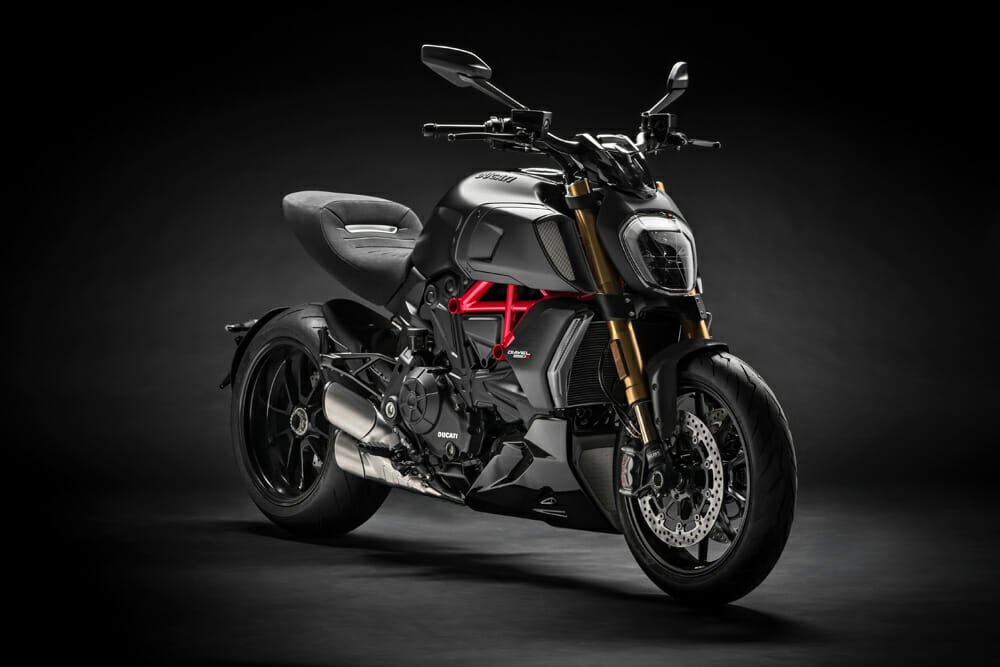 The Ducati Diavel 1260 is expected in North American Ducati dealerships in April.