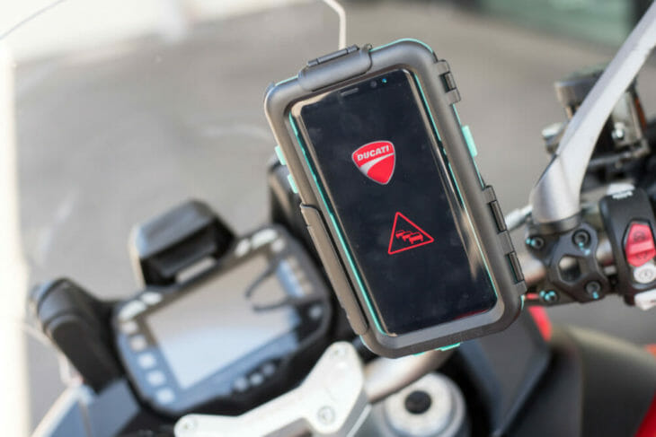 Ducati car-to-bike technology 3