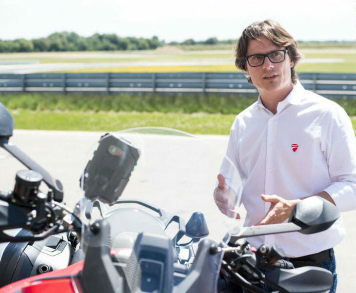 Ducati car-to-bike technology 2