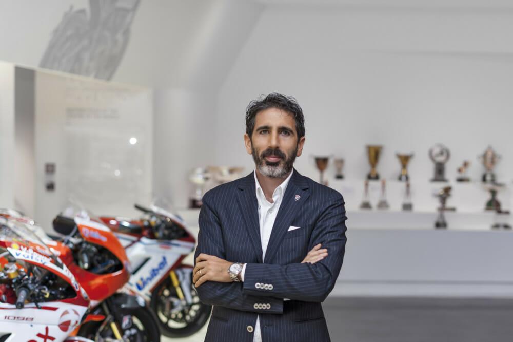 Francesco Milicia, Global Sales Director of Ducati