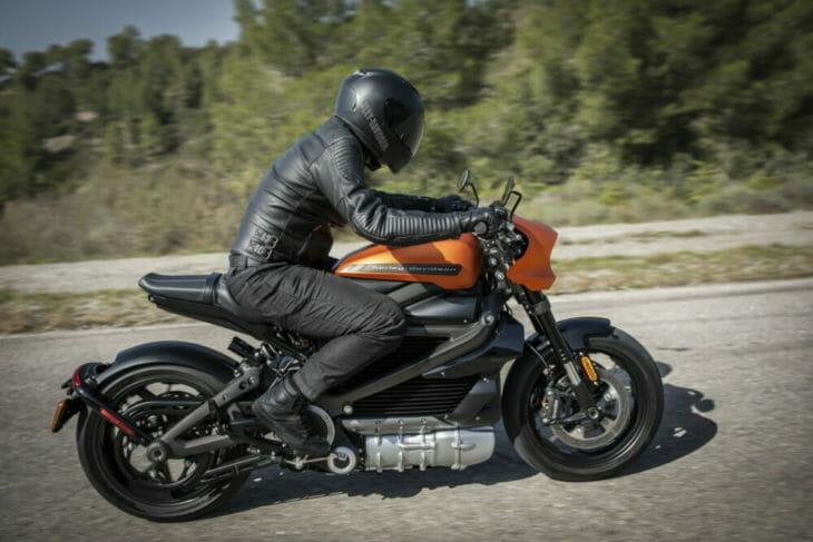 Harley-Davidson-LiveWire-side