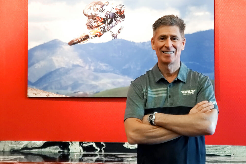 This is Craig Shoemaker, the man in charge of off-road-parts and gear-distributor Western Power Sports.