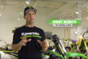 Jeremy McGrath introduces Kawasaki's latest video in the Science of Supercross series