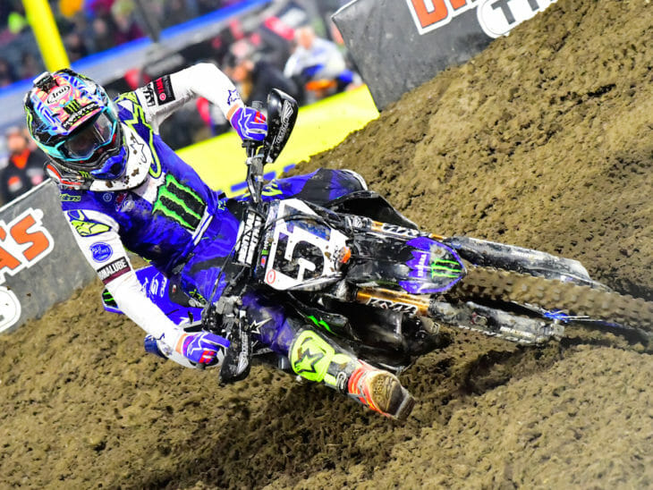Justin Barcia won Anaheim 1 Supercross 2019.
