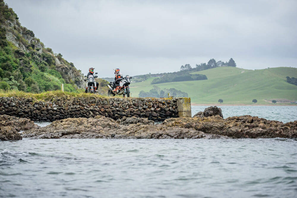 Beautiful scenery at the KTM New Zealand Adventure Rallye