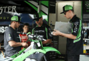 Kawasaki has announce its complete 2019 Team Green Racer Rewards (contingency) program.
