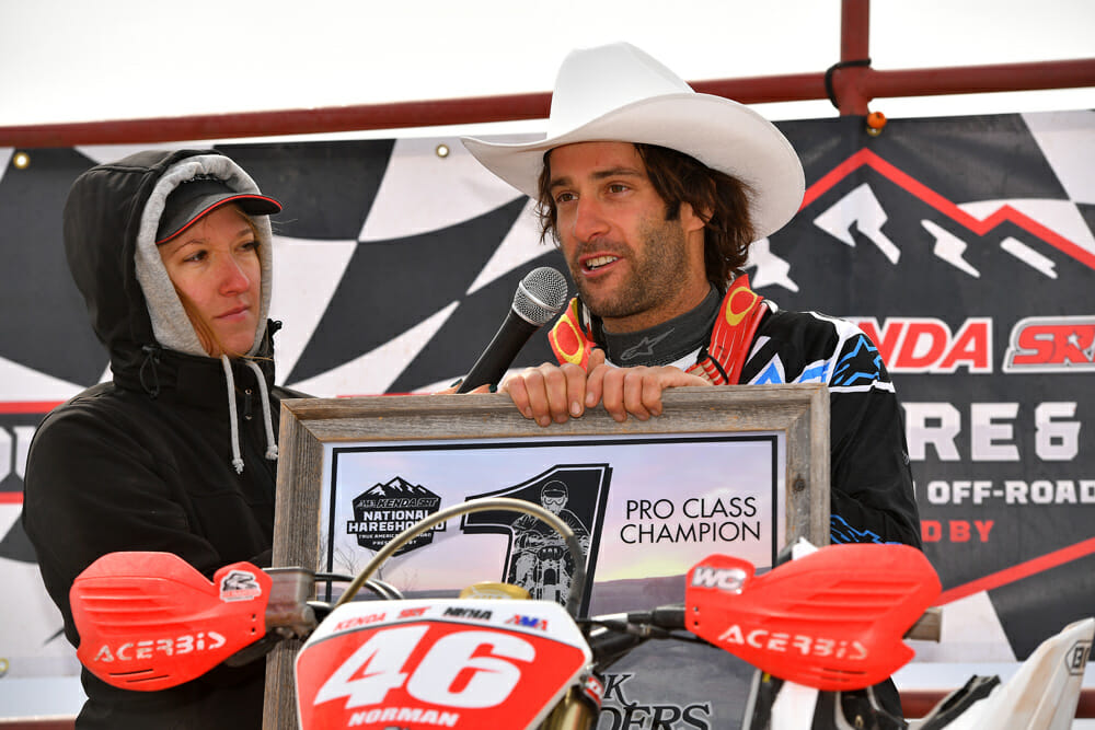 No stranger to hard work, Kendall Norman saw that work rewarded in his comeback 2018 season, winning the Kenda/SRT AMA Hare & Hound National Championship followed by earning a gold medal at the ISDE in Chile.