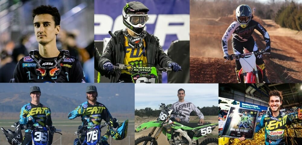 Leatt signs Rockwell Racing, TiLUBE Honda, Musquin, Marchbanks, Martinez and Locurcio for 2019.