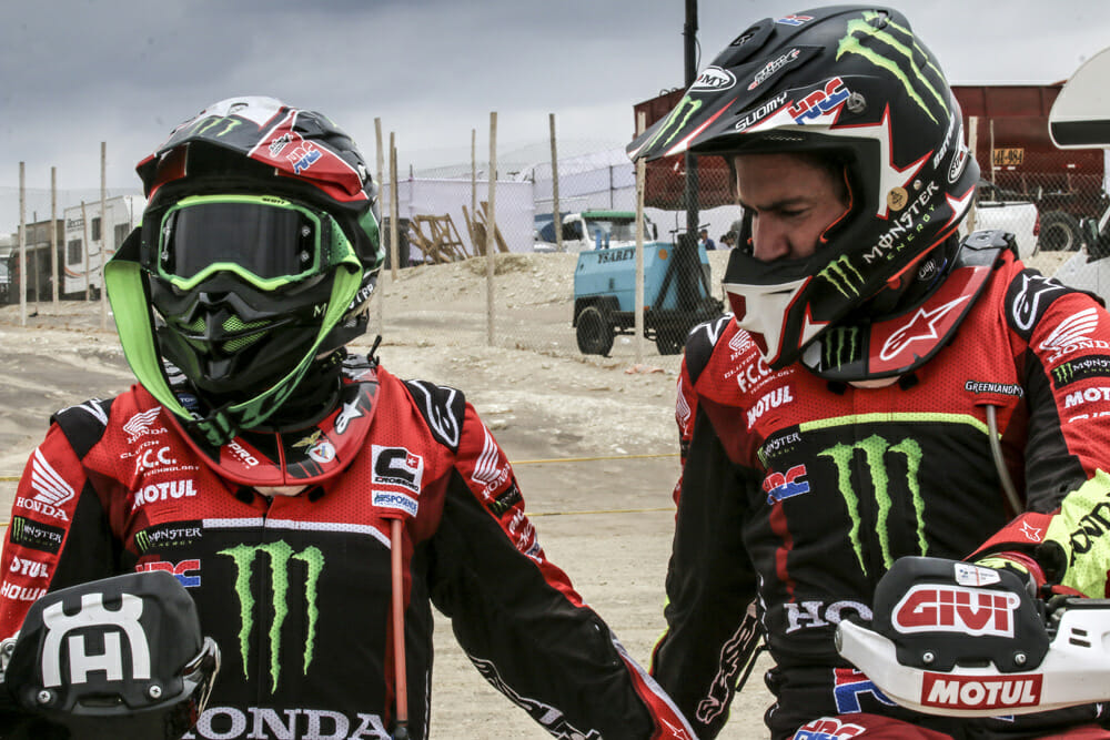Monster Energy Honda Team Dakar 2019