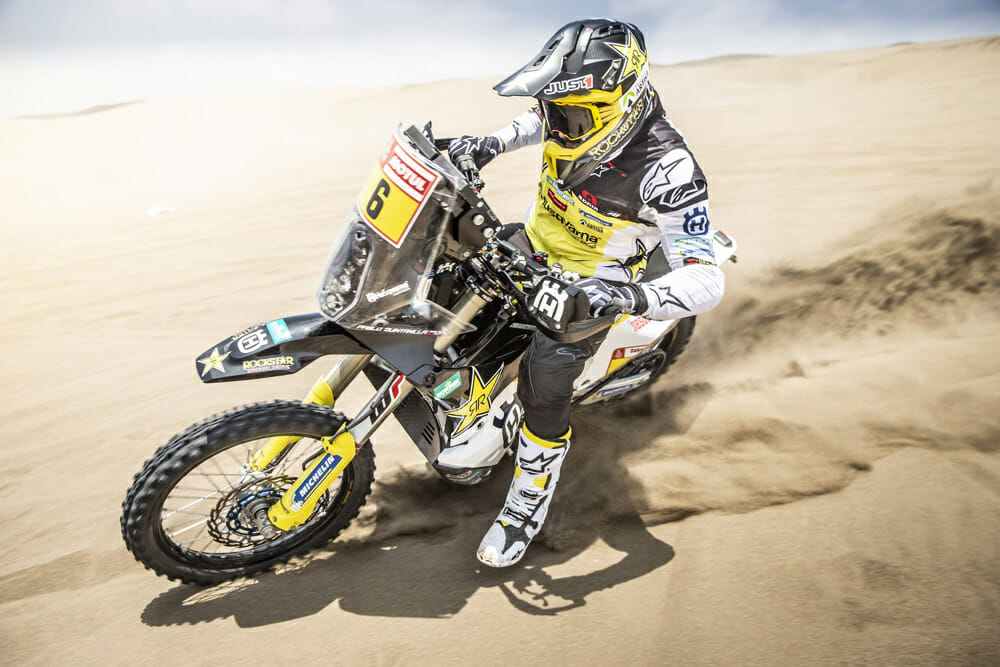 Pablo Quintanilla set to take to the start of the 2019 Dakar Rally on Monday in Lima, Peru.