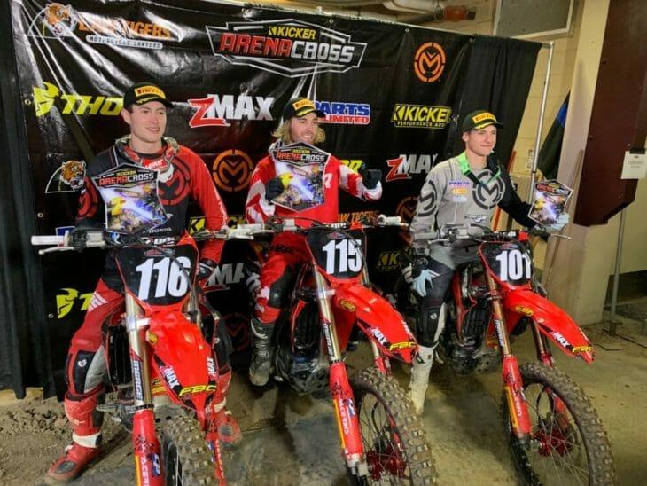 Pirelli Riders Dominate Opening Round of 2019 Kicker Arenacross Championship