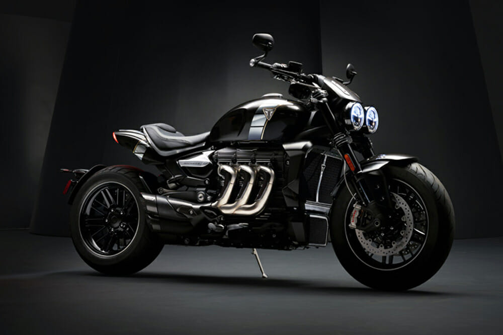 The Rocket TFC concept bike: full details and specifications are expected on May 1, 2019.