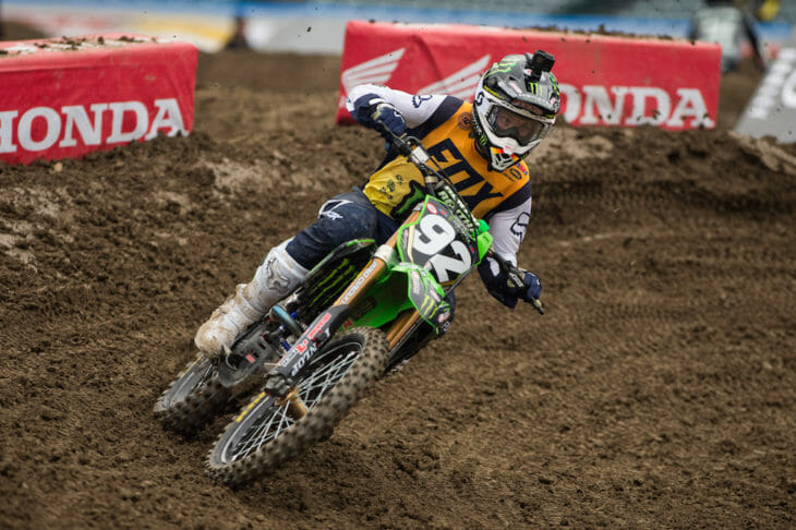 Anaheim Supercross Results