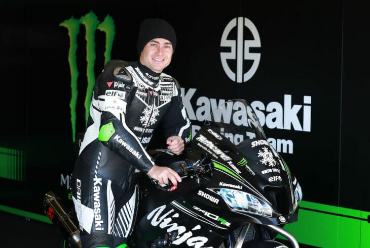 Leon Haslam at Jerez test