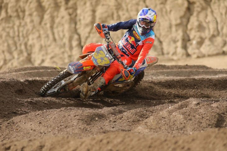 Taylor Robert won the Sprint Hero race at Glen Helen.