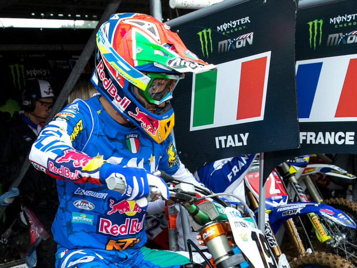 Team Italy disqualified from RedBud Motocross of Nations 2018.