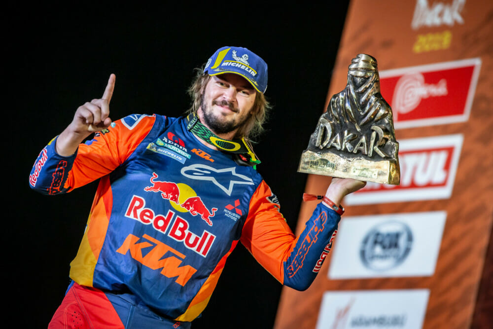 The 2019 Dakar Rally was one of success for Red Bull KTM Factory Racing.