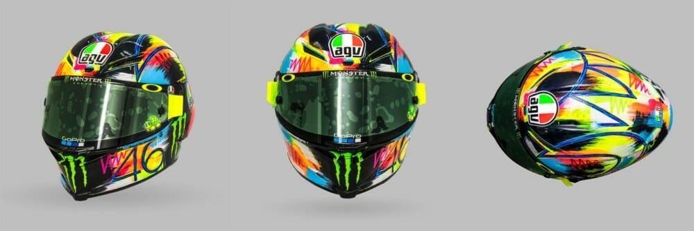 AGV Pista GP R 2019 Winter Test Helmet