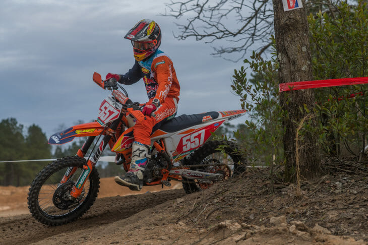 Kailub Russell Wins South Carolina Sprint Enduro