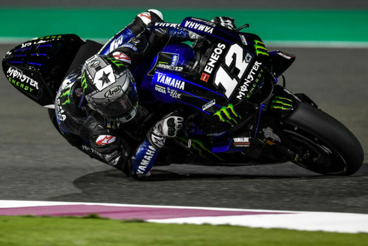 2019 MotoGP Test Results, Day One, Qatar Vinales fastest
