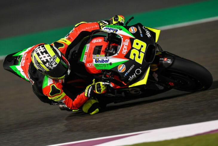 2019 MotoGP Test Results, Day Three, Qatar Iannone
