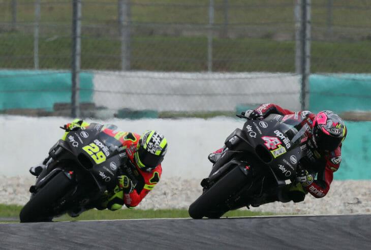 2019 MotoGP Test Results Espargaro leads Iannone in testing