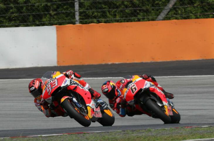 2019 MotoGP Test Results Repsol Honda test riders