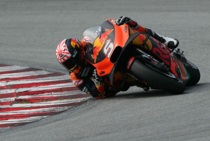 2019 MotoGP Test Results Zarco getting faster on the KTM