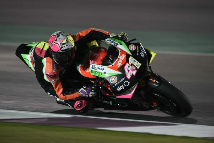 2019 MotoGP Test Results, Day Three, Qatar Espargaro Aprilia