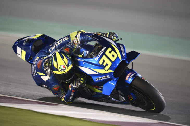 2019 MotoGP Test Results, Day Three, Qatar Mir right hander