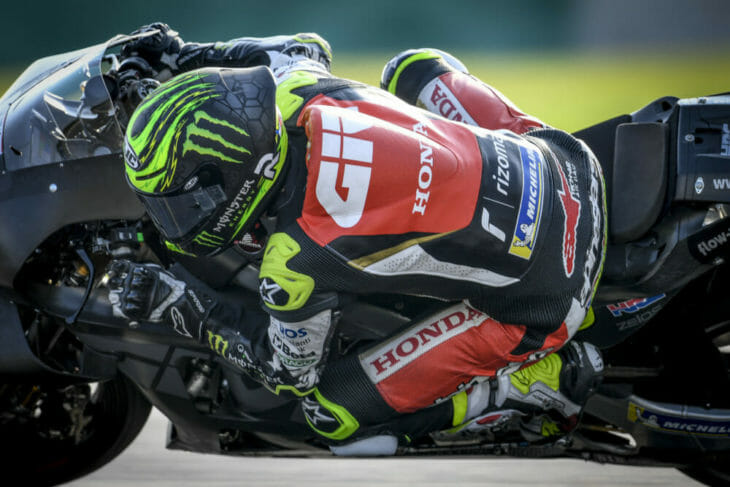 2019 MotoGP Test Results Crutchlow takes an impressive fifth.