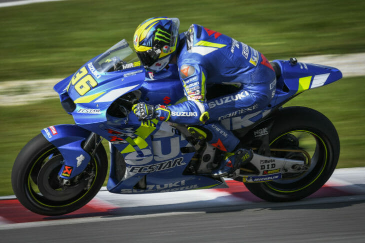 2019 MotoGP Test Results Mir still outside the top 20.
