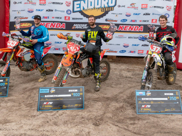 Russell Bobbitt win 2019 Sumter National Enduro.
