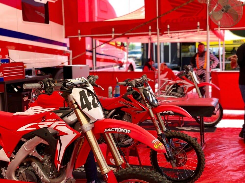 Honda Red Rider Support Team
