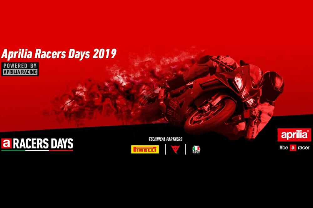 Aprilia USA announces 2019 Aprilia Racers Days program