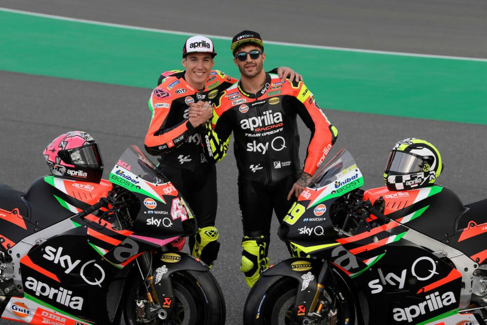 Aprilia Racing Team Gresini Readies for MotoGP