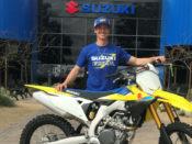 Chad Cose to ride 2019 AFT Singles class aboard a Suzuki.
