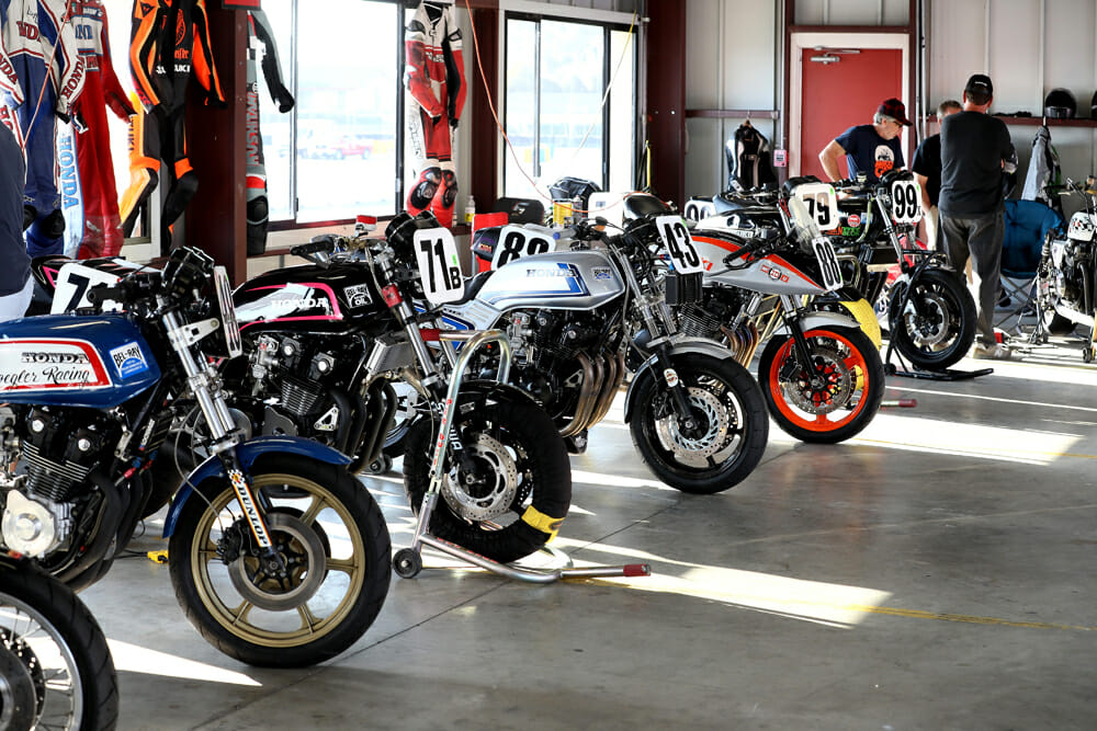 The CSRA caters to a wide variety of bikes over almost a decade of competition.