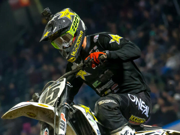 Dean Wilson is back with the Rockstar Energy Husqvarna Factory Racing Team