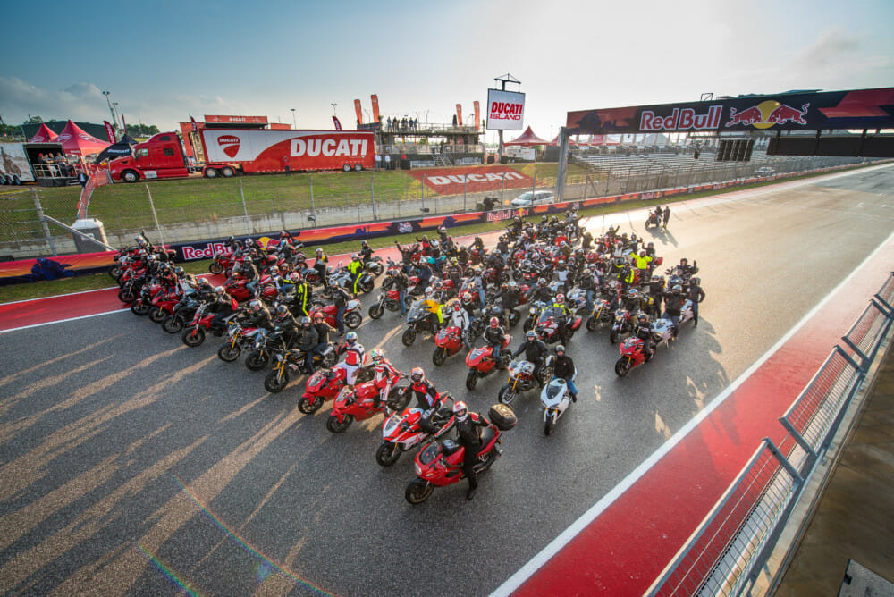 Ducati Island Confirmed for 2019 Grand Prix of the Americas MotoGP