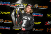 Jace Owen and Pirelli Scorpion MX Tires Clinch Arenacross Championships in Salt Lake City
