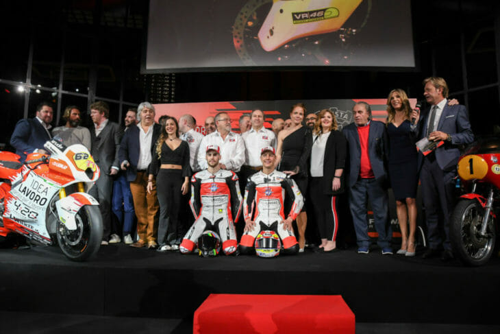 MV Agusta Idea Lavoro Forward Racing Team